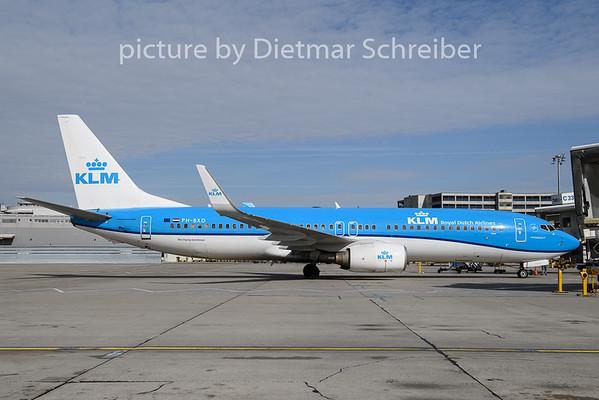 2019-02-26 PH-BXD Boeing 737-800 KLM