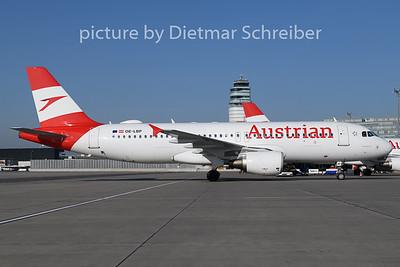 2019-02-27 OE-LBP Airbus A320 Austrian Airlines