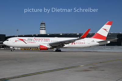 2019-02-27 OE-LAY Boeing 767-300 Austrian Airlines