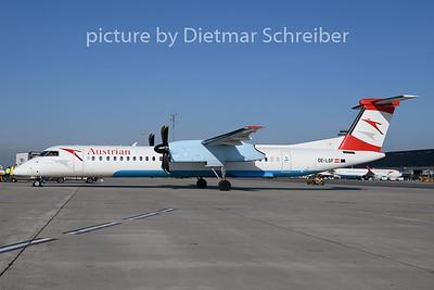 2019-02-27 OE-LGF Dash8-400 Austrian Airlines