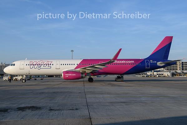 2019-03-30 HA-LTH Airbus A321 Wizzair