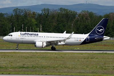 2019-05-31 D-AIWC Airbus A320 Lufthansa