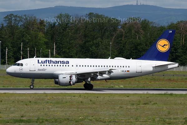 2019-05-31 D-AILM Airbus A319 Lufthansa