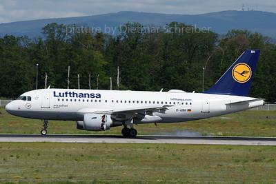 2019-05-31 D-AIBH Airbus A319 Lufthansa