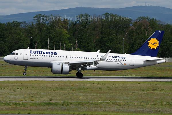 2019-05-31 D-AINA Airbus A320neo Lufthansa