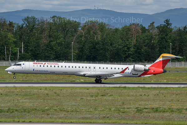 2019-05-31 EC-MJQ Canadair Regionaljet 1000 Air Nostrum