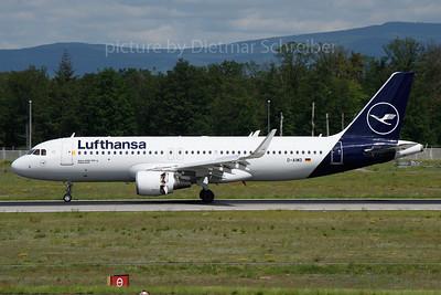 2019-05-31 D-AIWD Airbus A320 Lufthansa