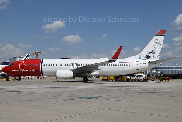 2019-07-26 LN-DYA Boeing 737-800 Norwegian