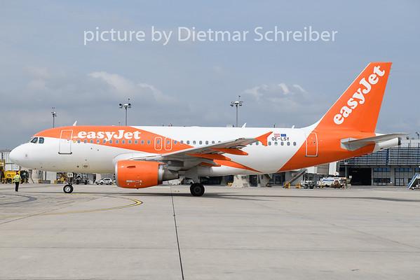 2019-07-29 OE-LSY Airbus A319 Easjyet Europe