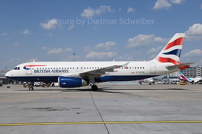 2019-07-26 G-EUYN Airbus A320 British Airways