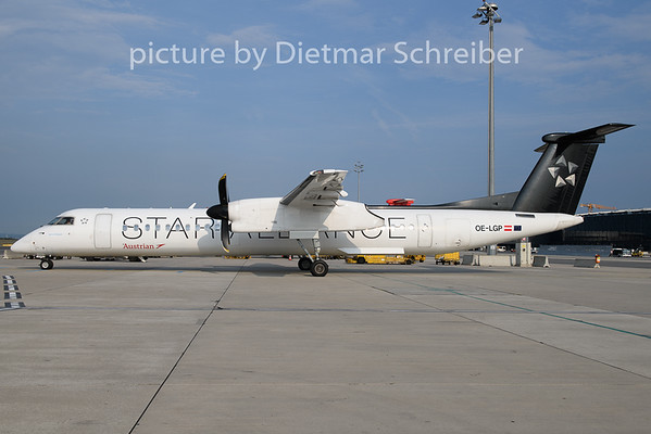 2019-08-30 OE-LGP Dash 8-400 Austrian Airlines