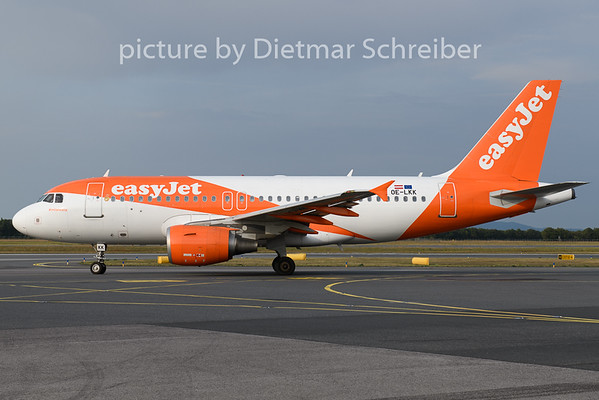 2019-08-30 OE-LKK Airbus A319 Easyjet Europe
