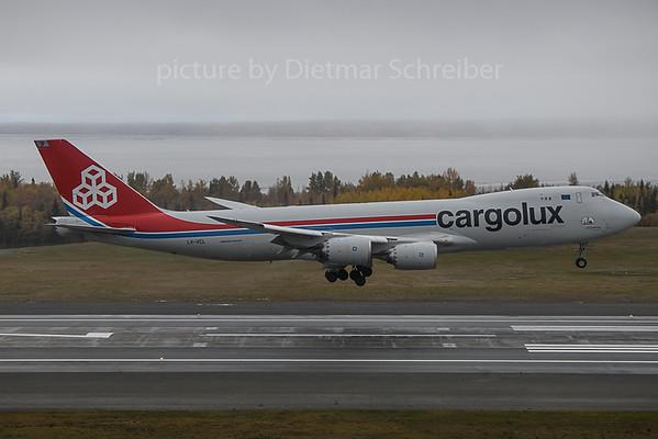 2019-09-30 LX-VCL Boeing 747-8 Cargolux
