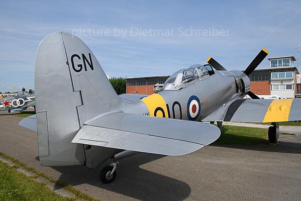 2019-09-14 G-INVN (WG655) Hawker Sea Fury