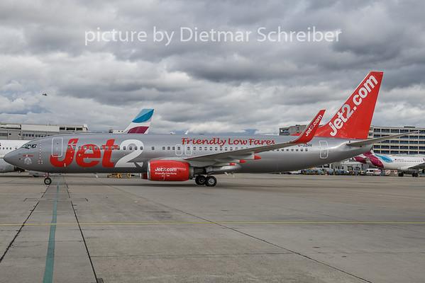 2019-11-29 G-JZHV Boeing 737-800 Jet 2