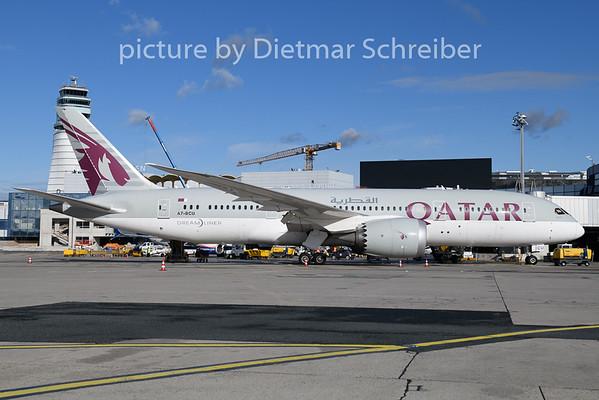 2020-01-29 A7-BCU Boeing 787-8 Qatar Airways