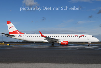2020-01-29 OE-LWG Embraer 195 Austrian AIrlines
