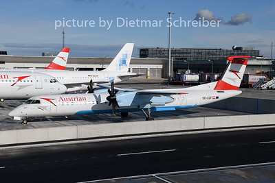 2020-01-29 OE-LGF Dash 8-400  Austrian AIrlines