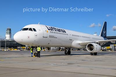 2020-01-29 D-AIRK Airbus A321 Lufthansa