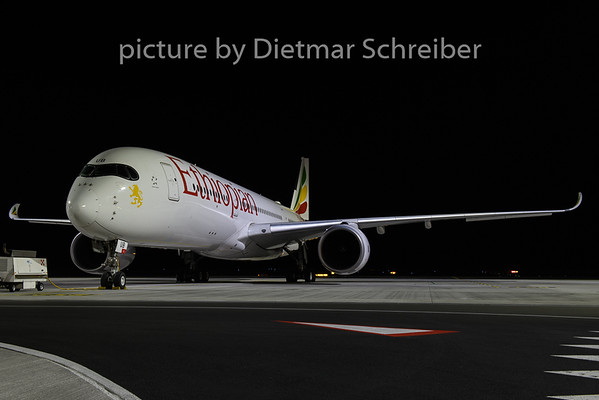 2020-02-29 ET-AUB Airbus A350-900 Ethiopian AIrlines