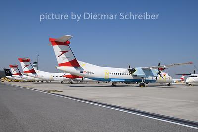 2020-03-24 OE-LGJ Dash8-400 Austrian Airlines
