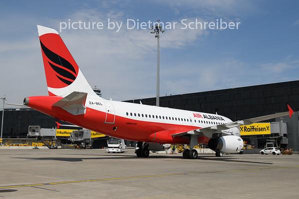 2020-04-27 ZA-BEL Airbus A319 Air Albania
