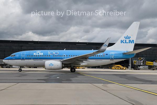 2020-05-25 PH-BGW Boeing 737-700 KLM