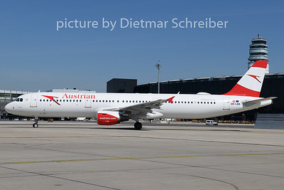2020-07-31 OE-LBB Airbus A321 Austrian Airlines
