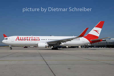 2020-07-31 OE-LAY Boeing 767-300 Austrian Airlines