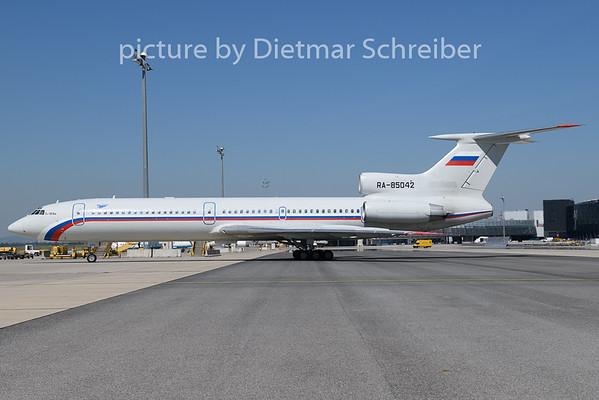 2020-07-31 RA-85042 Tupolev 154 Russian Air Force