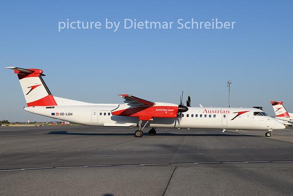 2020-07-30 OE-LGN Dash8-400 Austrian Airlines