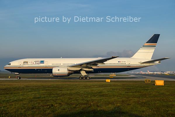2020-10-22 EC-MUA Boeing 777-200 Priviledge Style