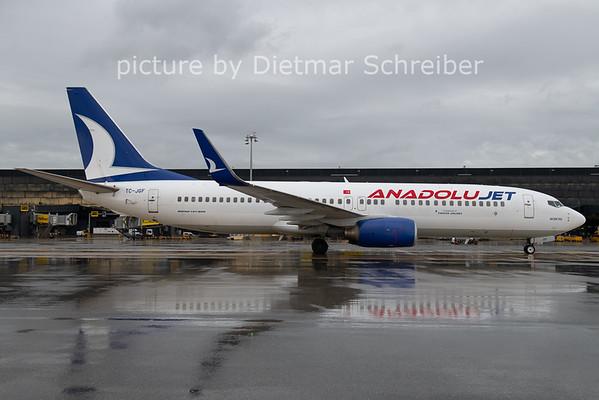 2020-10-30 TC-JGF Boeing 737-800 Anadolu Jet