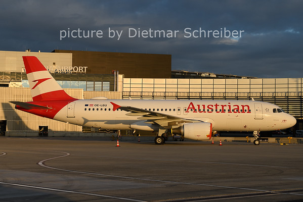 2020-11-29 OE-LBU AIrbus A320 AUstrian AIrlines