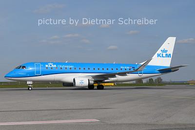 2021-04-28 PH-EXH Embraer 175 KLM Cityhopper