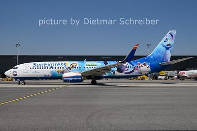 2021-06-29 TC-SNU Boeing 737-800 Sunexpress