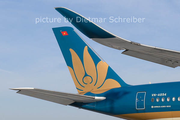 2021-06-28 VN-A894 Airbus A350-900 Vietnam Airlines