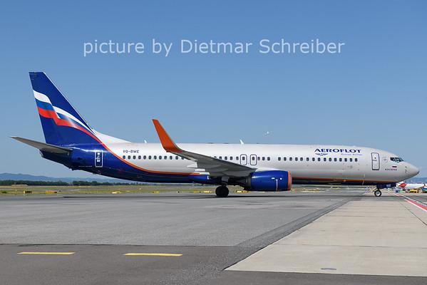 2021-07-29 VQ-BWE Boeing 737-800 Aeroflot