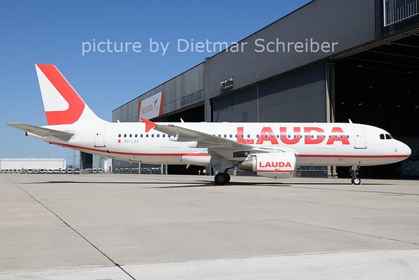 2021-07-29 9H-LAX Airbus A320 Lauda Europe