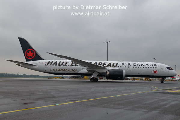 2021-09-27 C-FVLQ Boeing 787-9 Air Canada