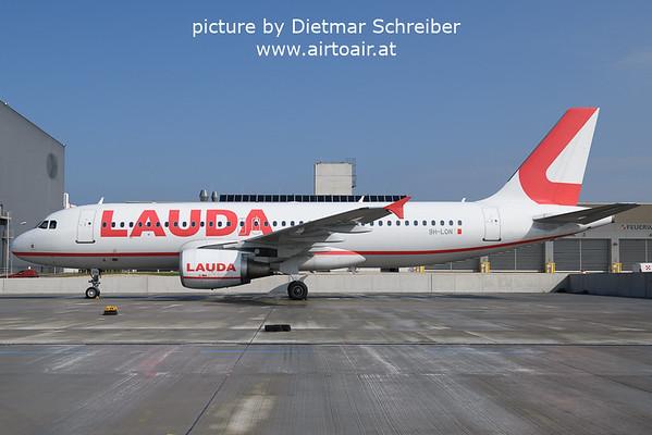 2021-09-28 9H-LON AIrbus A320 Lauda Europe
