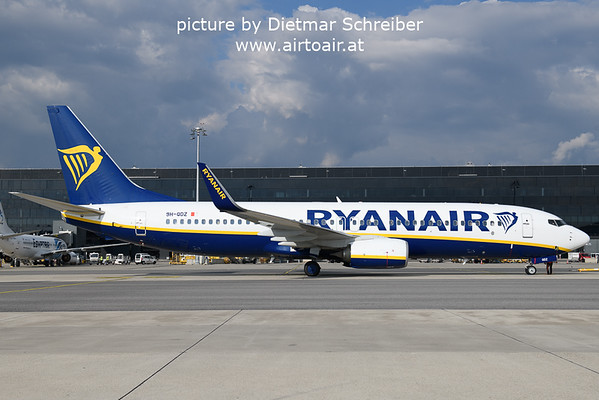 2021-09-28 9H-QDZ Boeing 737-800 Ryanair