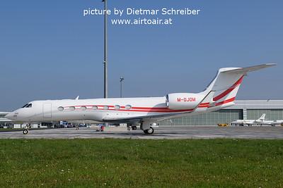 2021-09-28 M-OJON Gulfstream 5