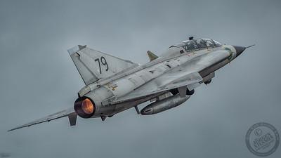 SAAB SK 35C Draken