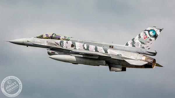 Polish F-16D block 52
