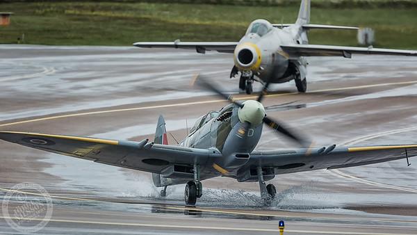 Spitfire and Tunnan
