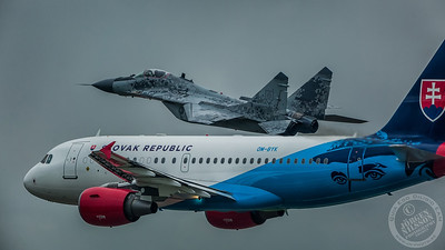 A319 and Mig 29