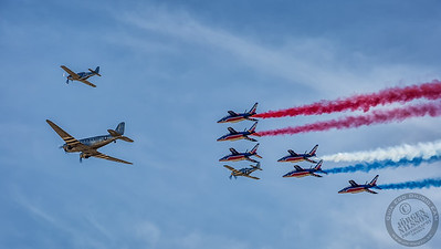 Patrouille de France & D-DAY Formation