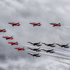 Red Arrows and Thunderbirds