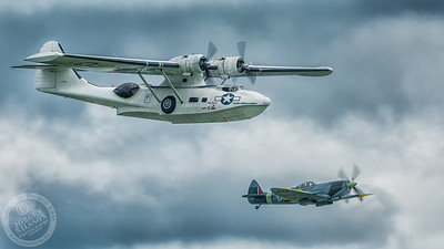 PBV-1A Canso & Spitfire